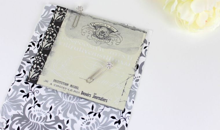 Pretty Paperclips diamante