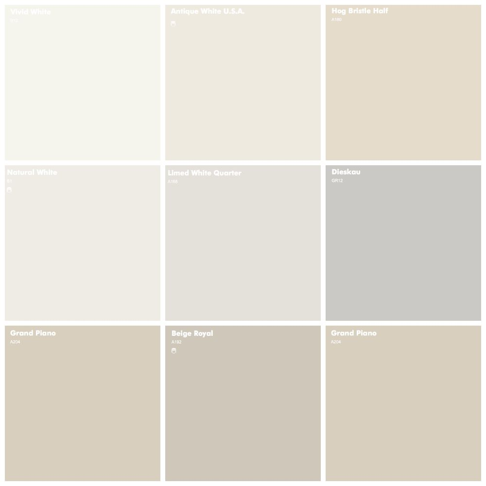 Dulux Neutral Paint Colours
