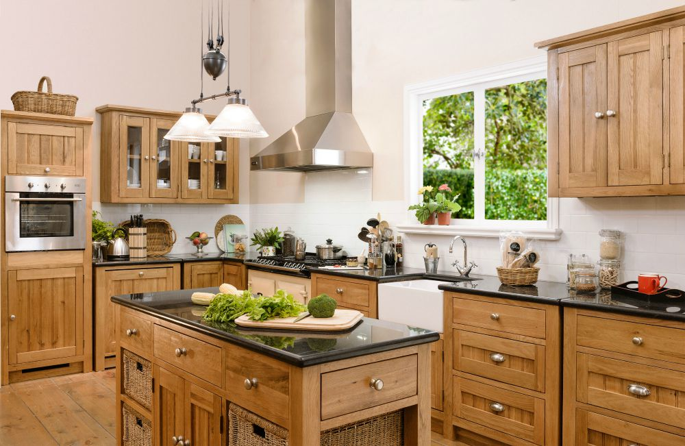 DIY Kitchens by Early Settler, solid oak