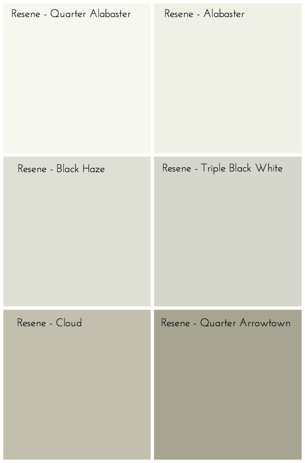 Dulux White Paint Samples