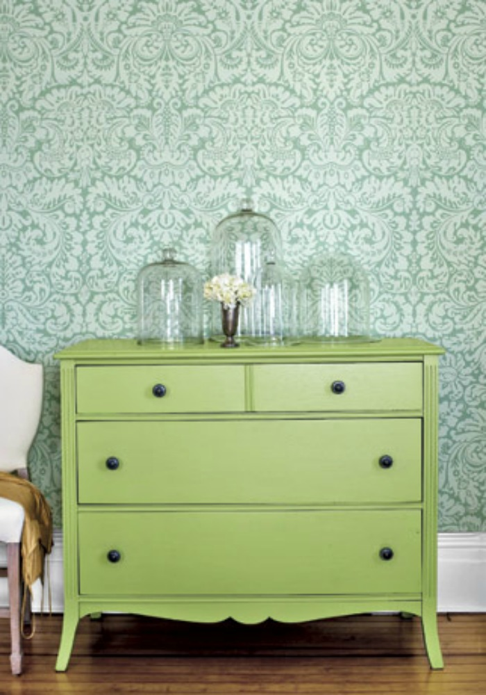 green dresser country living