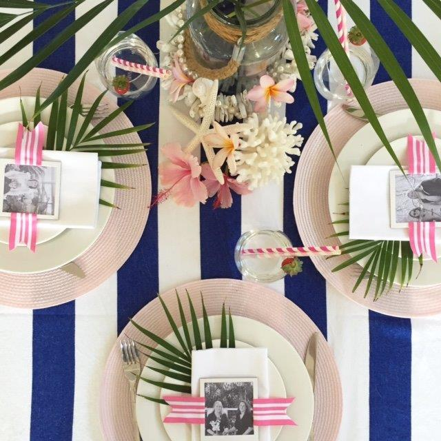 Special mothers day table setting