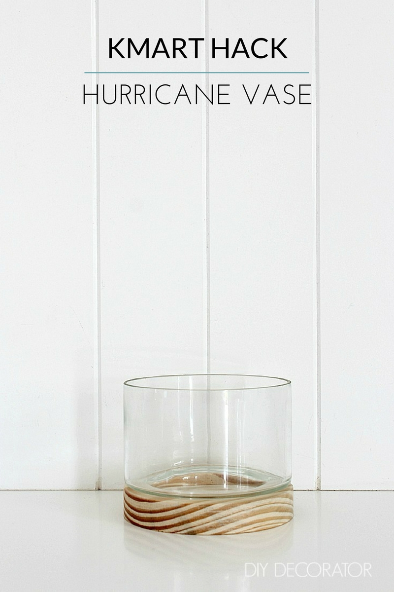 kmart hack rose gold hurricane vase