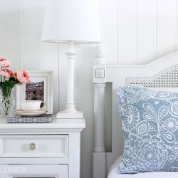 Prepare the guest bedroom for visitors. Tips and ideas for creating a welcoming guest bedroom.