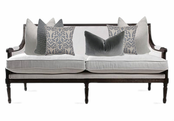 Two Cushions per Side Plus a Feature