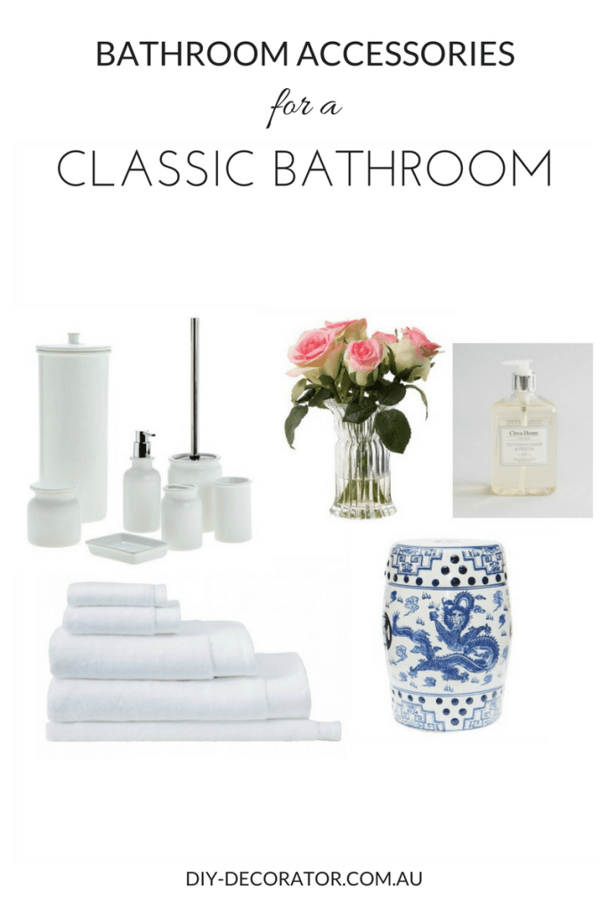 Classic Bathroom Accessories Feminine