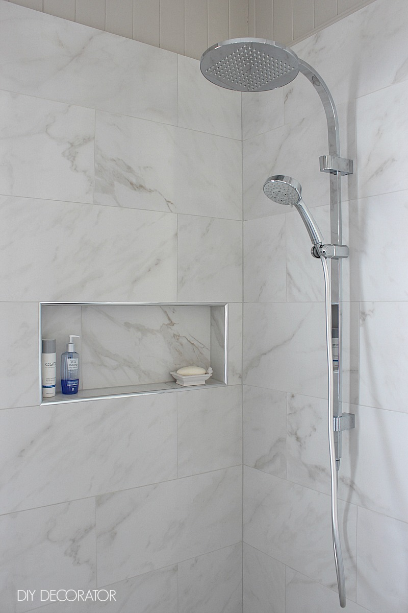 Classic ensuite reveal shower