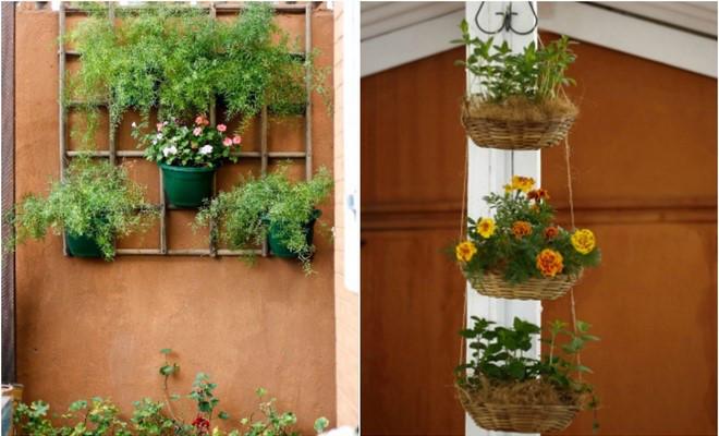 2 Space Saving DIY Vertical Garden Ideas For Small Balcony