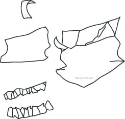 100+ Harry Potter Party Crafts Howler Envelope Template