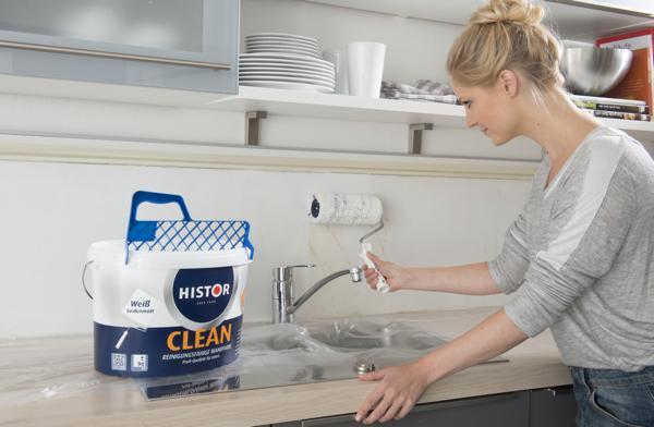 Reinigungsfreundliche Wandfarbe Bauen & Renovieren News für Heimwerker