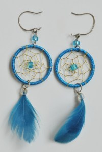 How to make dreamcatcher earrings  DIY is FUN