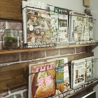 ディアウォールで作った本棚と飾り棚