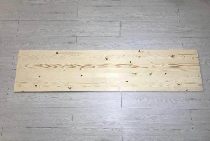 カットした天板