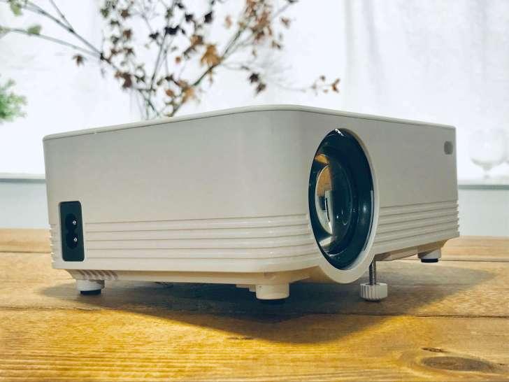 「POYANK データプロジェクター 2400lm」のアジャスター