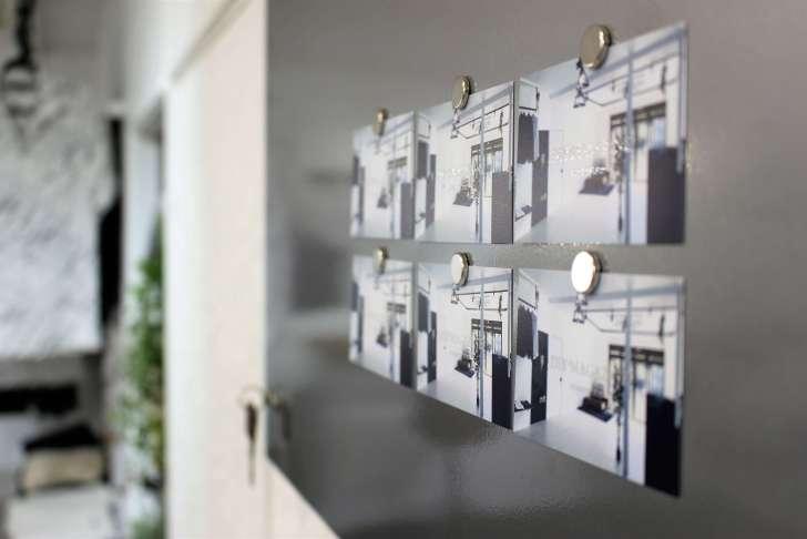 IKEAのマグネットボード『SPONTAN』を取り付けた感想