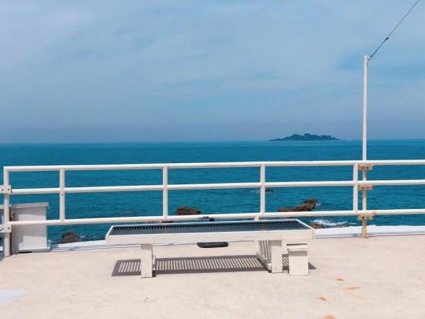ブレマリーの目の前は海!軍艦島も眺められる