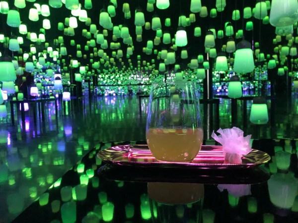 喫茶店「応灯楼」の水出し柚子抹茶は優しいお味