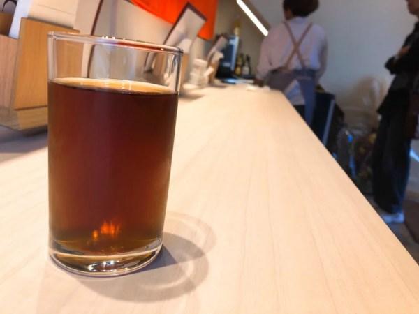 牛たん専門店 大阪屋は麦茶を出してくれる