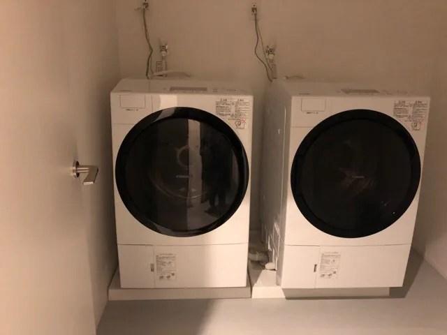 HafH Nagasaki -SAIのコワーキングスペースの洗濯機