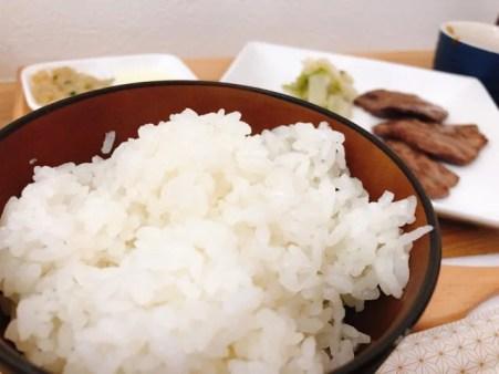 牛たん専門店 大阪屋のランチのご飯