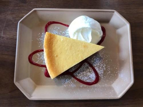 モンネルギムックのチーズケーキ