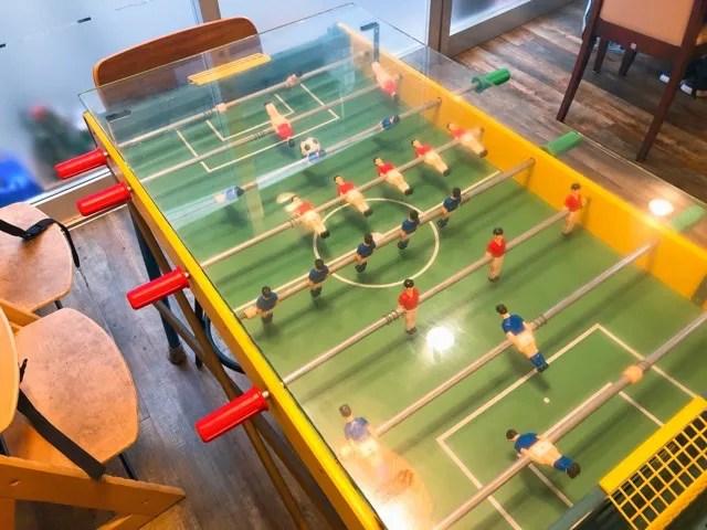 ツヂノハチヤのレトロなサッカー盤