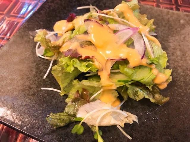 ツヂノハチヤのサラダ