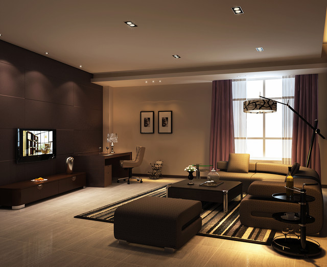 living room recessed lighting ideas with black leather sectional diy retrofit installation without attic access modern lights