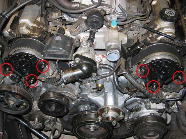 2003 Honda Accord Knock Sensor Wiring Diagram Timing Belt Amp Water Pump Replacement For Lexus Ls400 Ls430