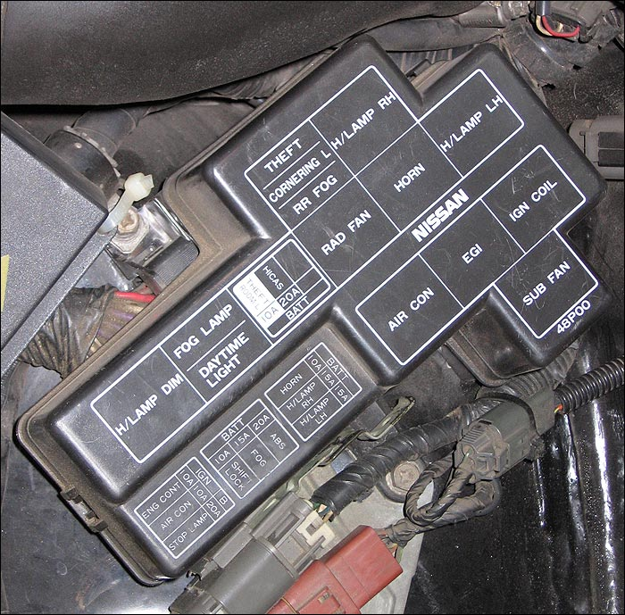 300zx Battery Wiring Diagram Fuses And Locations For Nissan 300zx Z32 1990 96