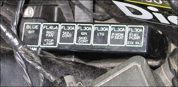 2011 Altima Fuse Box Diagram Fuses And Locations For Nissan 300zx Z32 1990 96