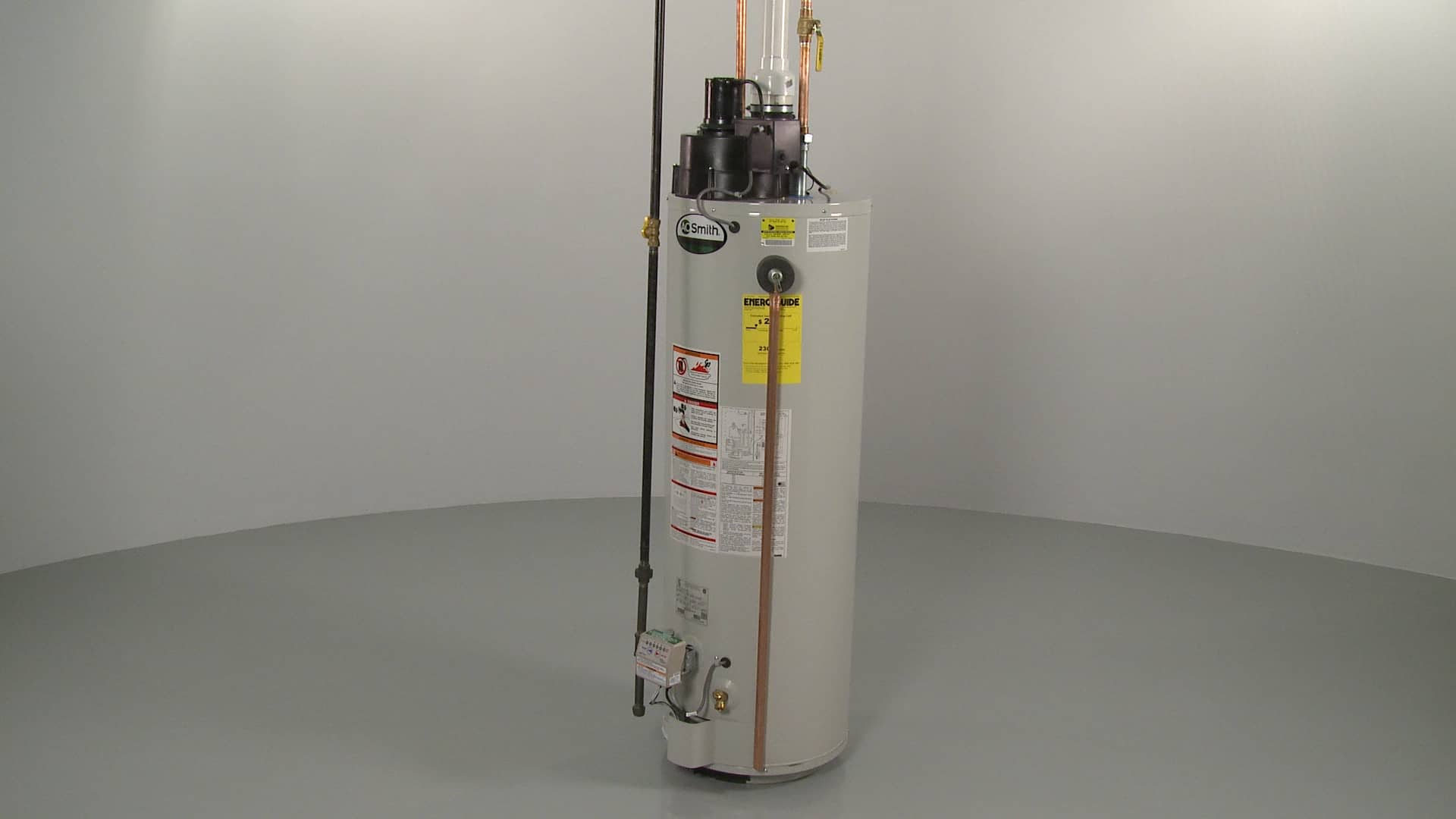 how to vent a gas water heater diy
