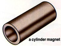 What shape is a magnet? - cylinder magnet