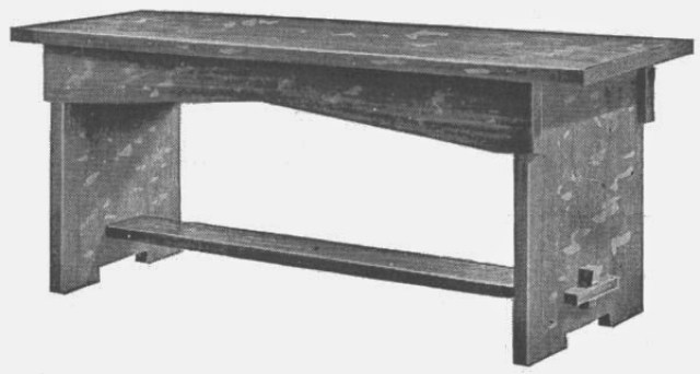 How to make a piano bench
