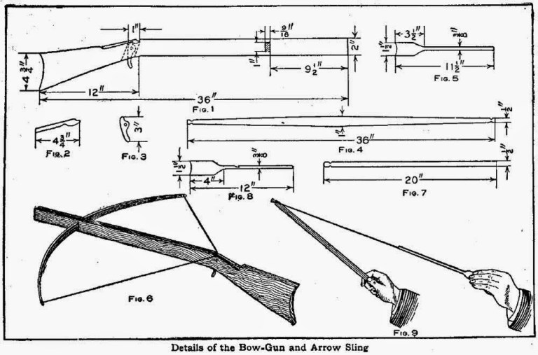 How to Make a Crossbow Out of Wood
