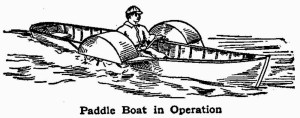 How to Make a Paddle Boat