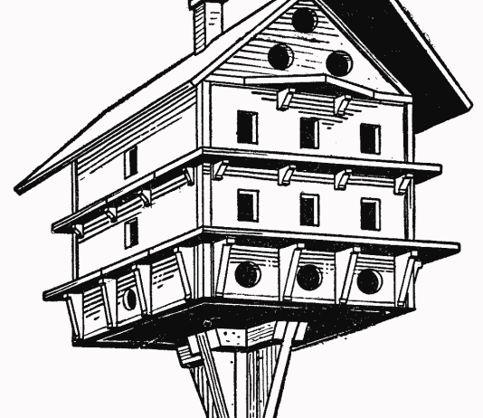 Martin birdhouse plans - How to make a birdhouse out of wood