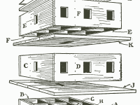 Fig. 703. — Build the Martin House in Sections as above (For Dimensions of Parts See Text)
