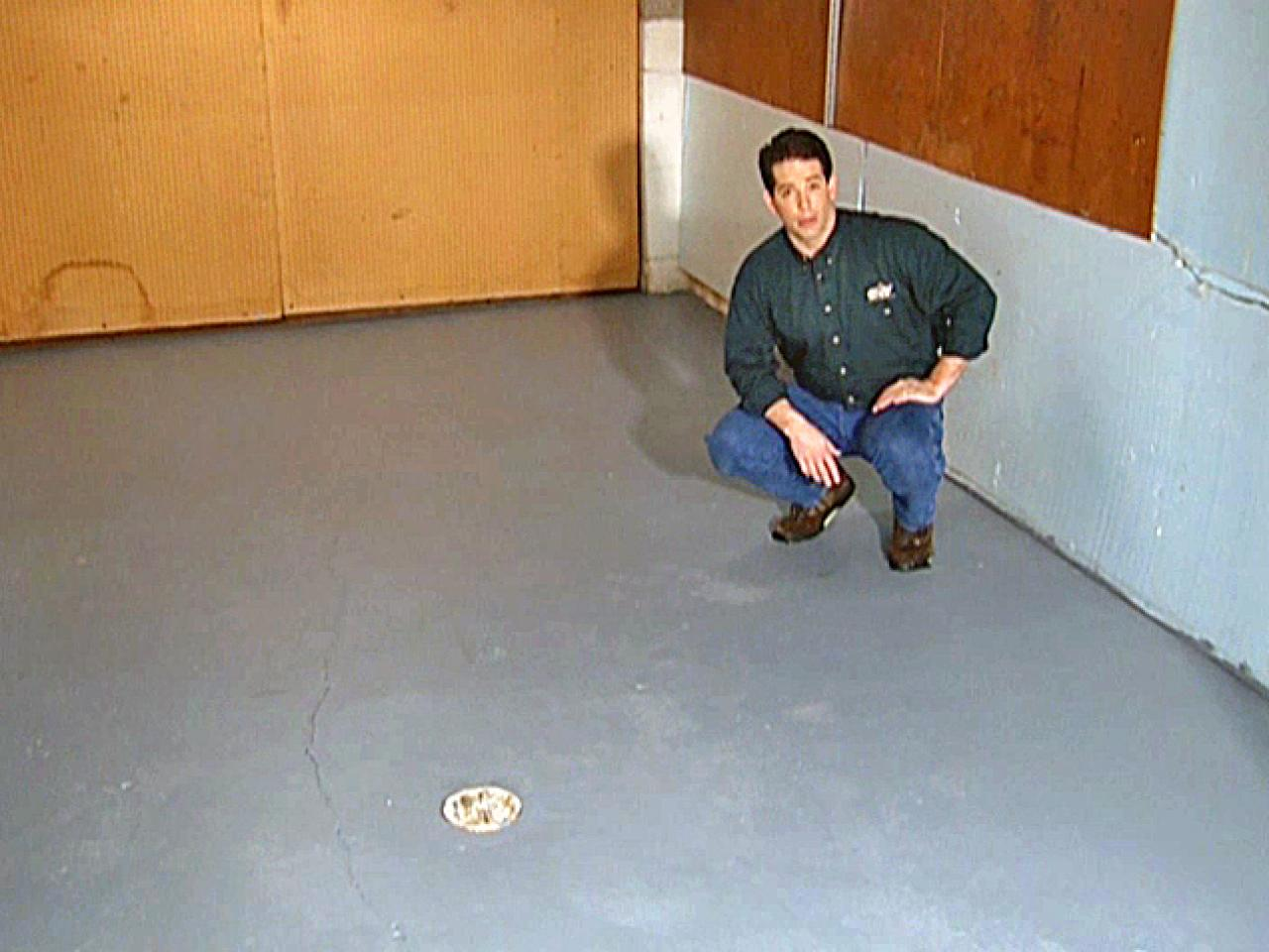 How to Paint a Garage Floor  howtos  DIY