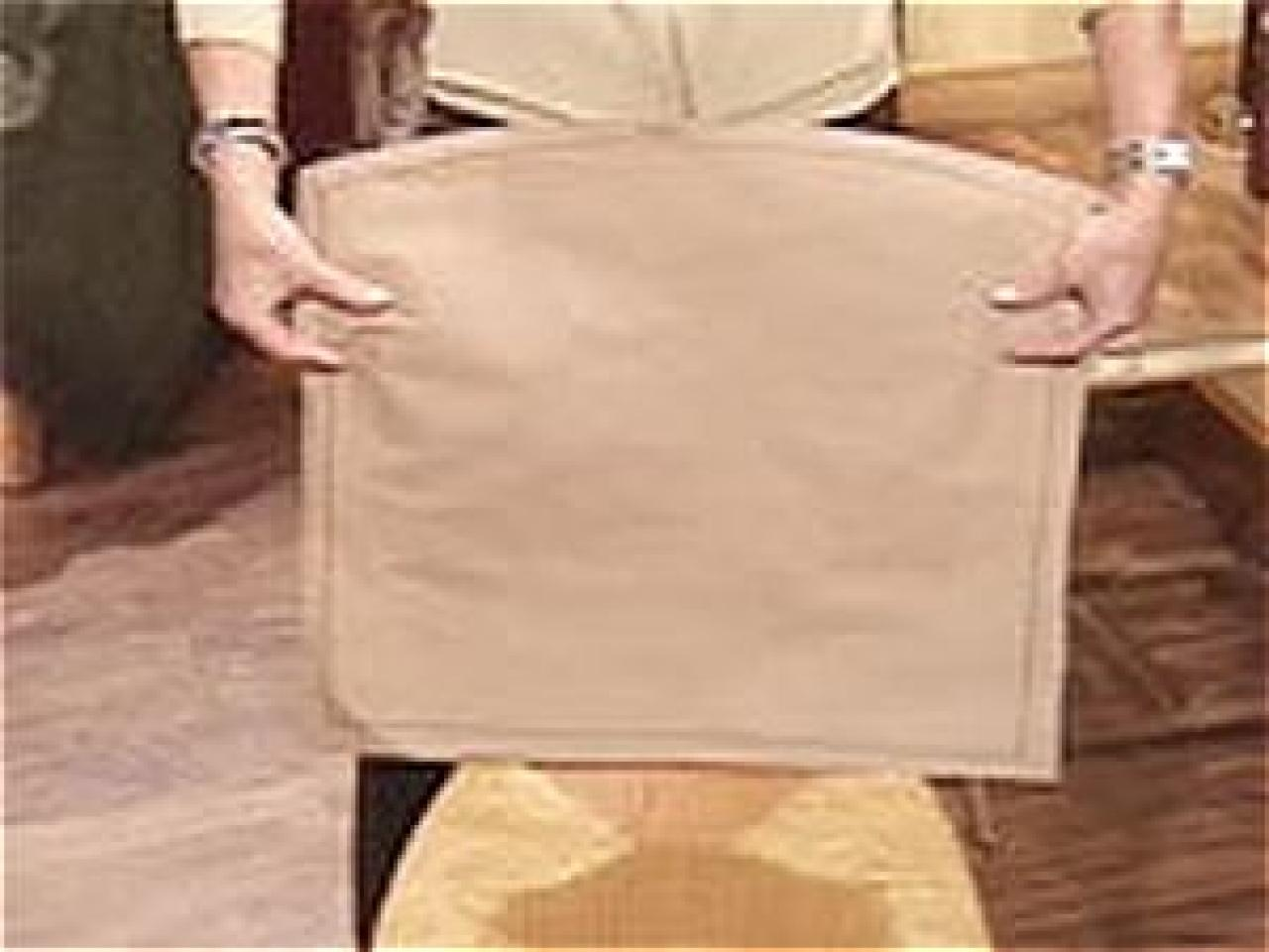 Cover For Chair How To Make A Chair Slipcover How Tos Diy