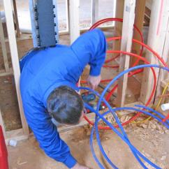 Pex Plumbing Diagram Top Hat Trailer Wiring How To Install A System Tos Diy