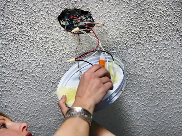 How To Install New Light Fixtures On Wiring A Switch To Light Fixture