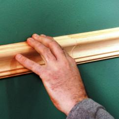 Chair Rail Molding Profiles Contemporary Chairs For Living Room Install A How Tos Diy