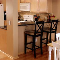 Kitchen Island Breakfast Bar Dishes Sets How To Create A Raised In Your Tos Diy