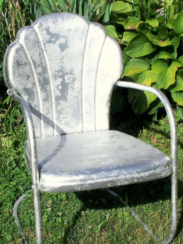 vintage lawn chair adult potty how to tell if metal furniture and decor is worth refinishing | diy