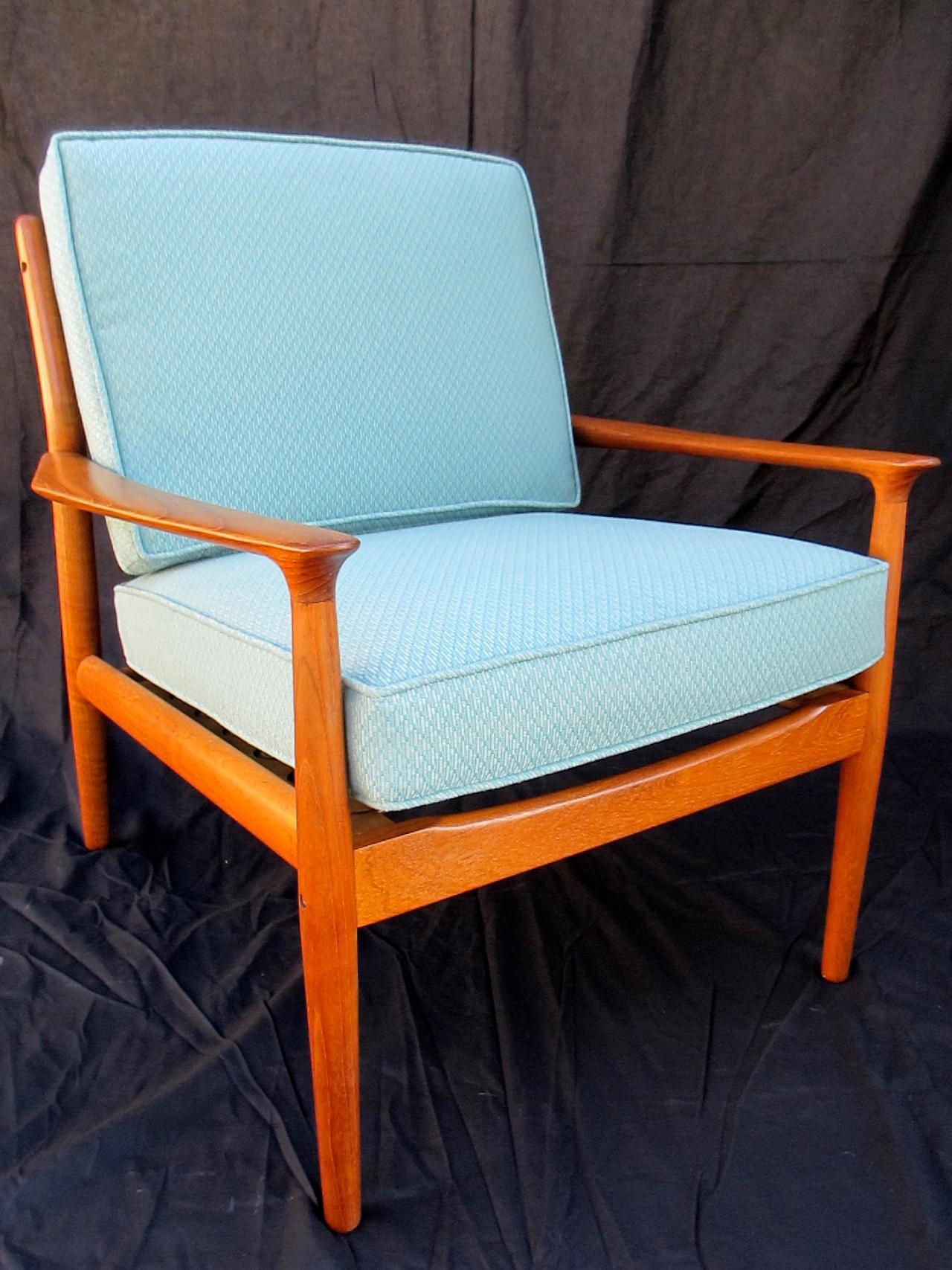 wood arm chair covers antique commode how to refinish a vintage midcentury modern | diy