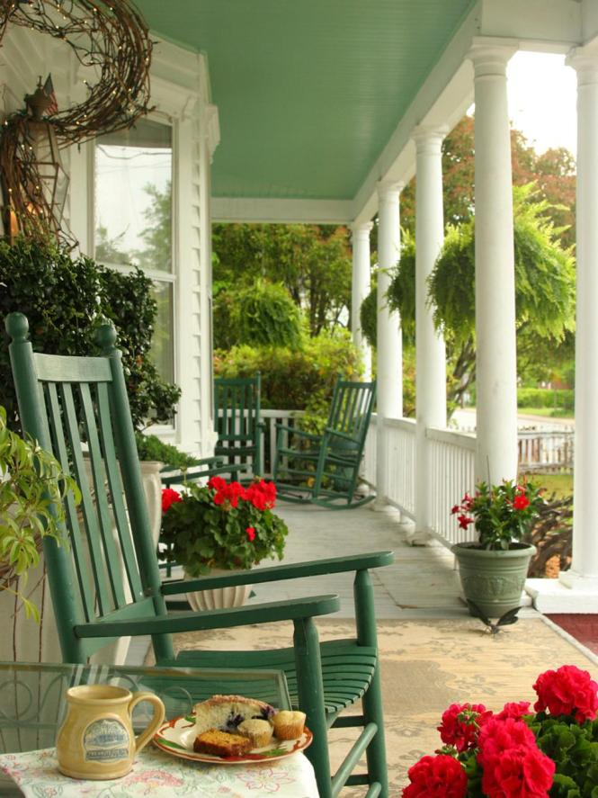 Front Porch Decorating Ideas For Spring Pinterest Eye Catching