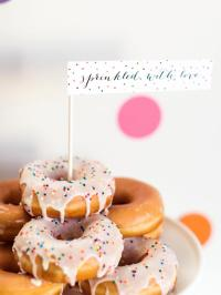 Sprinkle Baby Shower Decorating Ideas