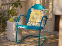 Painting Metal Outdoor Furniture