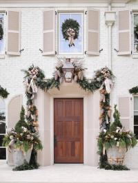 Best Beautiful Front Door Christmas Decorations {Part 1
